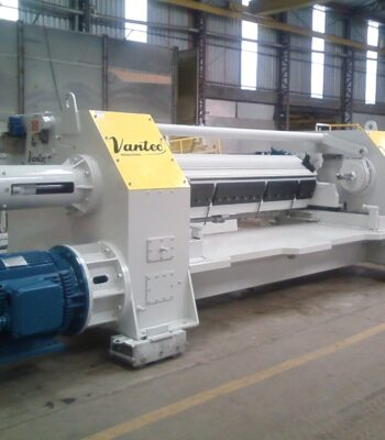 PEELING LATHE 2800MM (8FT) VANTEC