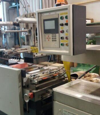 LUDY veneer rolls fleece backing machine