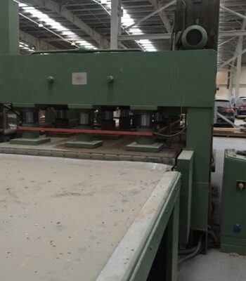 TALLERES MARCH 3400X2150MM CONTINOUS HOT PRESS