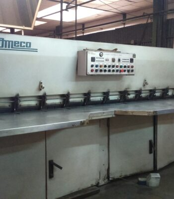OMECO VENEER CROSSFEED SPLICING MACHINE