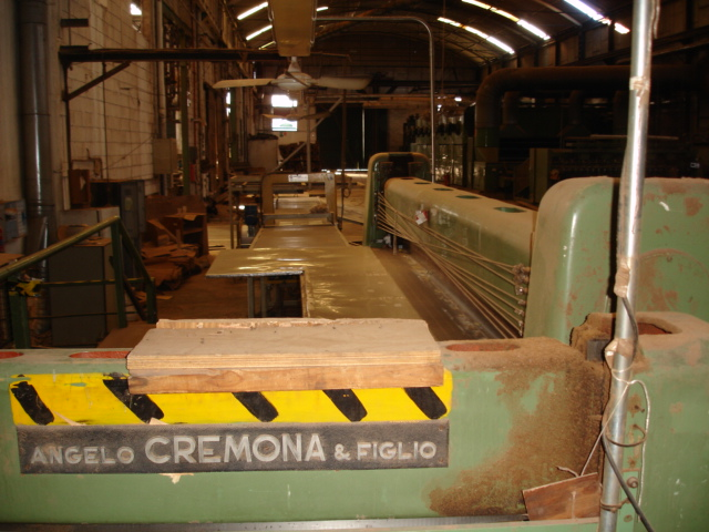 SECOND CREMONA SWING GUILLOTINE 4000MM