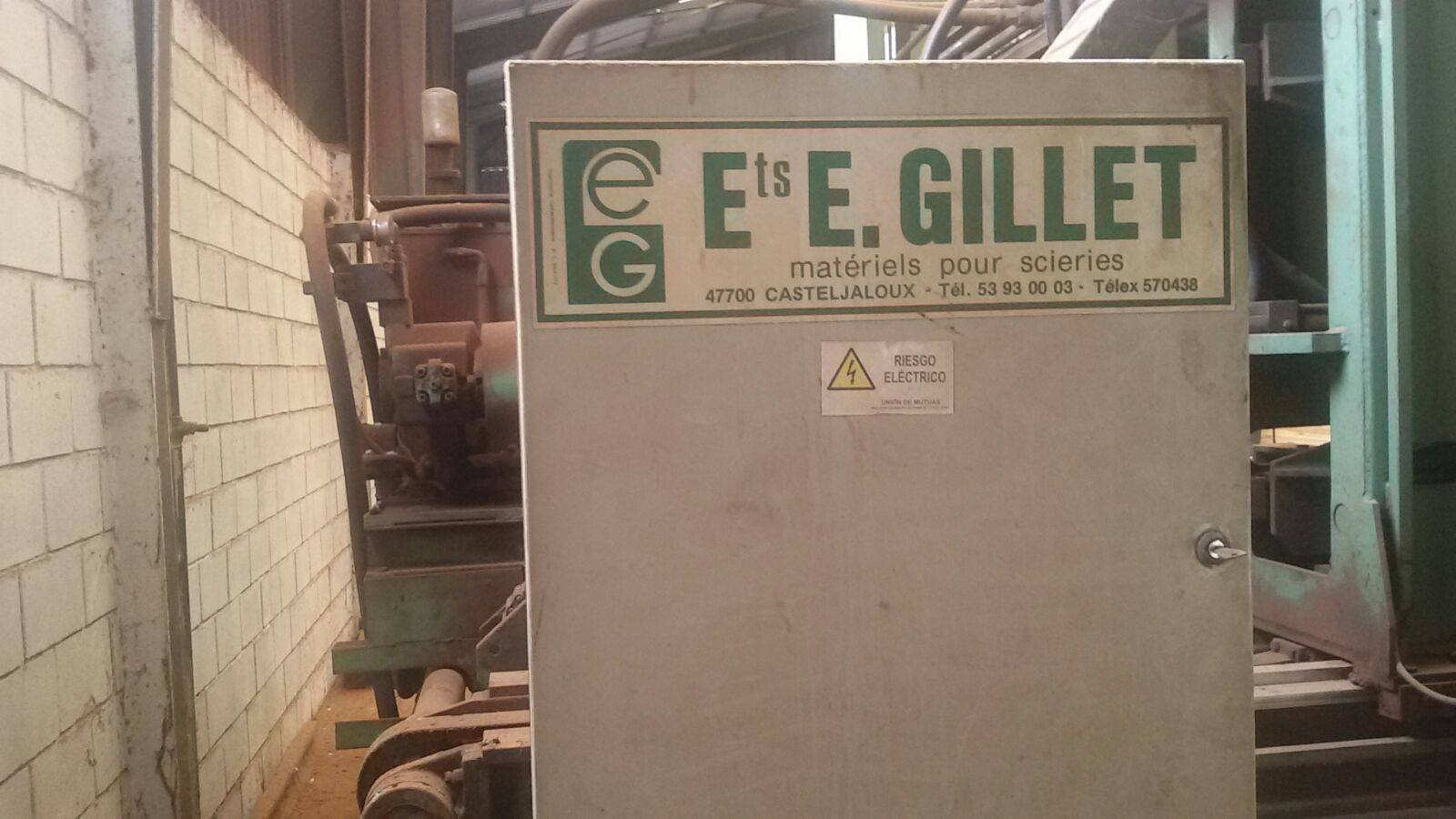 GILLET SAWMILL ELECTRICAL CABINET