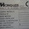 CROSS CLIPPER MONGUZZI PLATE
