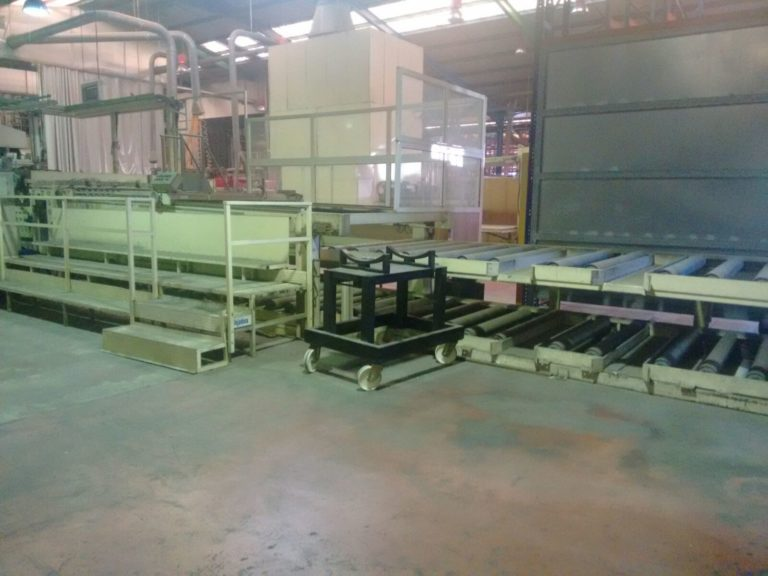 Melamine impregnated pape sheets pallets out feeding