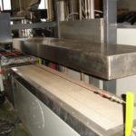 LUDY veneer fleece backing machine