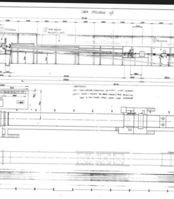 Linea desenrollo de chapa Angelo Cremona 2700x800