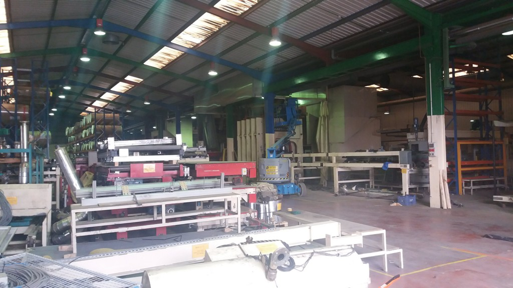 Melamine board - Laminate flooring production line second hand