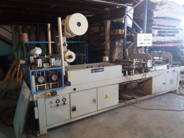 BARBERAN RCN 400-2 fleece backing machine