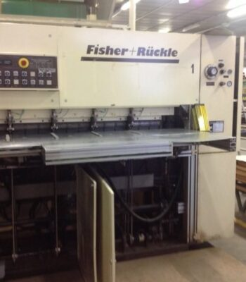 FISHER+RUCKLE FZS 28 Veneer crossfeed splicing machine