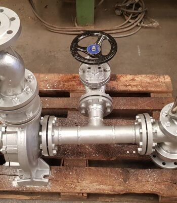 KSB PUMP AND RTK 3 WAYS VALVE 1