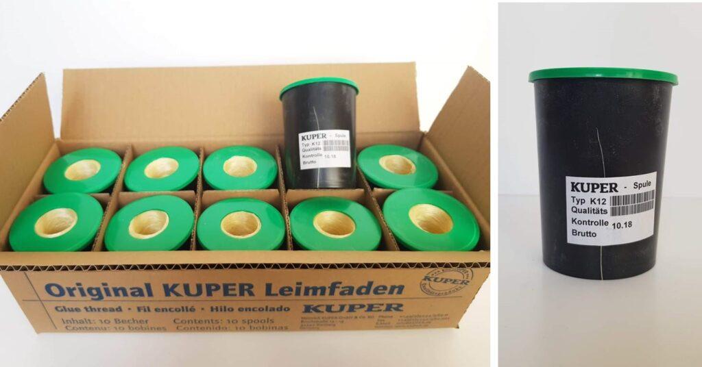 Hilo KUPER ref. K12 para maquinas KUPER HFZ4 y KUPER FWM 630