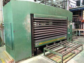 DRESAN multi daylight hot press
