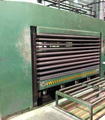 DRESAN multi daylight hot press