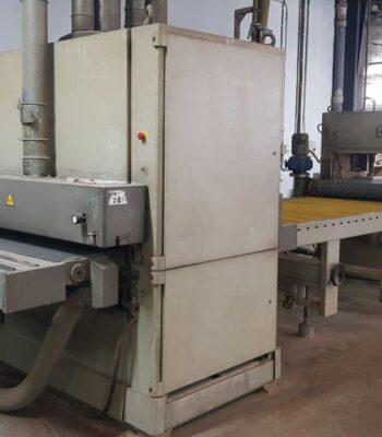 DMC panel calibrating line