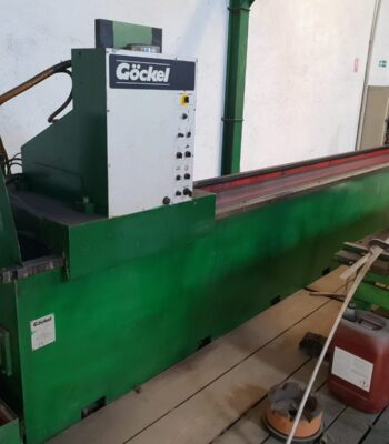 GOCKEL knife grinding machine