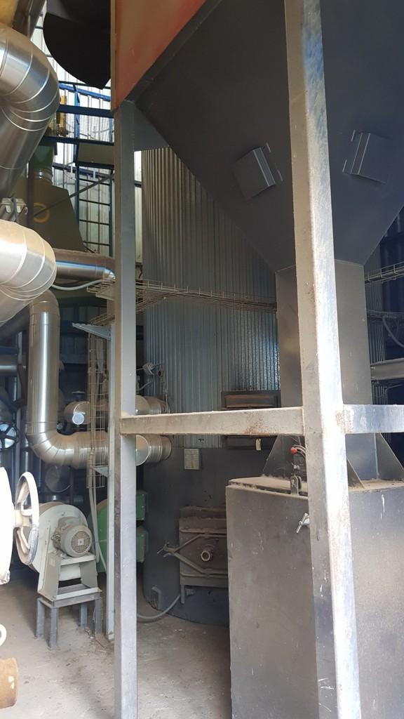 Multicyclone and SUGIMAT boiler