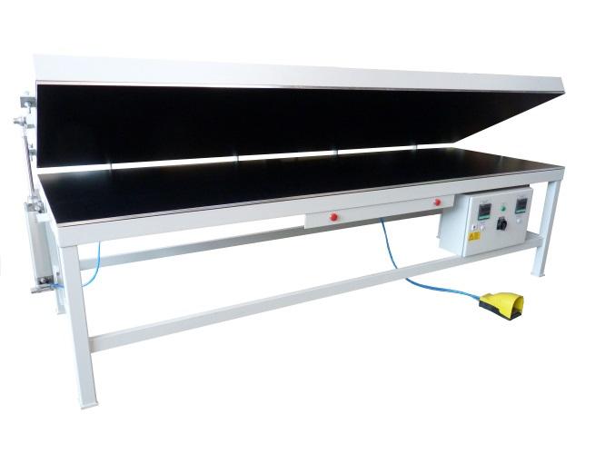 Mesa calentadora superficie solida