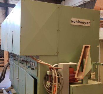 KUHLMEYER veneer rolls calibrating machine