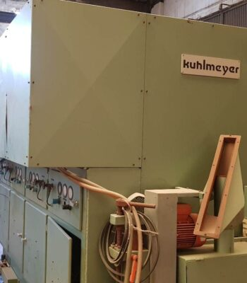KUHLMEYER veneer rolls calibrating machine